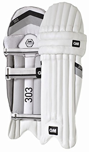 GUNN & MOORE 303Ambi Beinschützer Cricket Sport Vlies Schutz Guard Pad mehrfarbig mehrfarbig Für Jugendliche