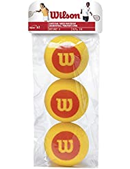 Wilson Tennisbälle, Starter Foam, 3er Pack, Gelb/Rot, Für Kinder, WRZ258900