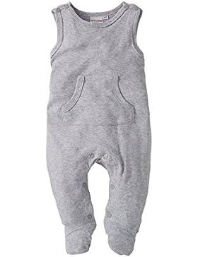 Bornino Strampler ärmellos/Basics Baby Bekleidung/Overall mit Druckknöpfen und Kängurutasche