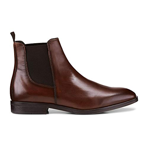 Belmondo Herren Chelsea-Boots Braun Glattleder 40