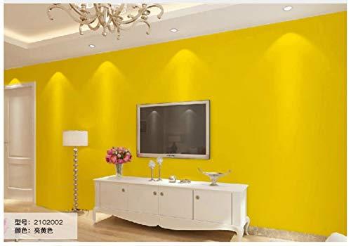 oderne Wanddeko Minimalistisches Design 3D Optik Wandgemälde Vlies-Wand-Tapete für Wohnzimmer Schlafzimmer Wanddeko, 0.53x10m, Modern - Candy Color - Simple Ins, Gelb ()