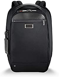 Briggs & Riley Work Medium Slim Backpack Maletín, 43 cm, 15.9 Liters, Negro (Black)