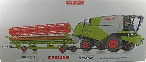Wiking 077817 - Claas Tucano 570 Mähdrescher mit Getreidevorsatz V