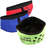 Fold Up Travel Dog Water Drinking Bowl