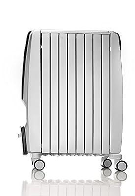 Delonghi Drache 4 Elektronischer ölradiator, 2000-Watt, weiß - TRDS4 0820E von Delonghi - Heizstrahler Onlineshop