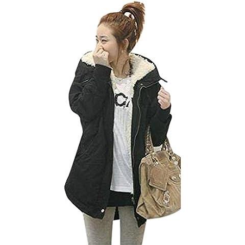 ropa de mujer otoño invierno abrigo chaqueta,RETUROM Chaqueta de abrigo de invierno con capucha de Parka Fleece