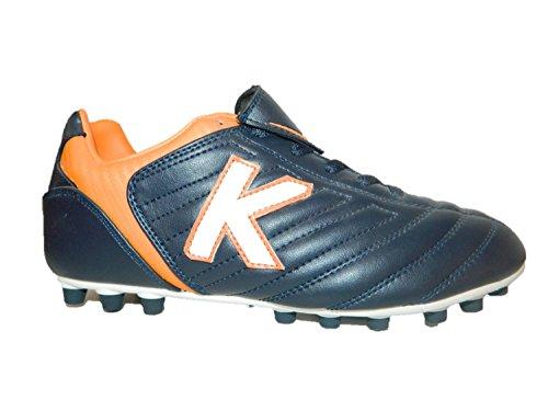 KELME scarpe calcetto uomo colore navy orange (46,5)