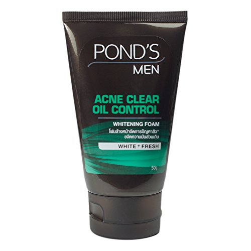 Pond 'S Herren Akne Oil Control Whitening Face Wash (Wash Face Mineral)