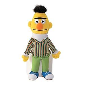"GUND 075941 ""Sesame Street Bert Beanbag"" Plush Toy"