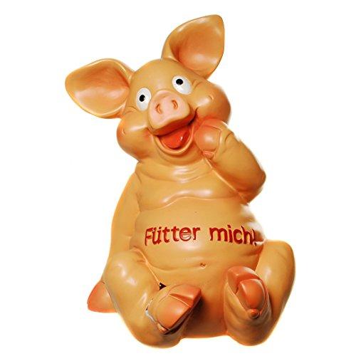 """Riesiges Sparschwein,Spardose \"""" Fütter mich, \"""" 30 cm  x 23 cm"""