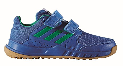 adidas FortaGym CF Trainingsschuh KInder blau / grün