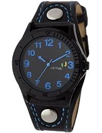 Cactus CAC-61-M03 - Reloj para niño, correa de plástico color negro