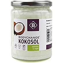 BodyChange Bio Kokosöl - 500ml - vegan, raw
