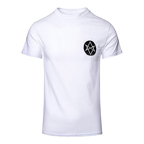 T Shirt Distorted Bring Me The Horizon (Bianco) - X-Large