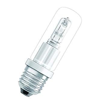 Osram E27Lampe halogène de T Clear Quartz Eco Halolux Ceram 70W