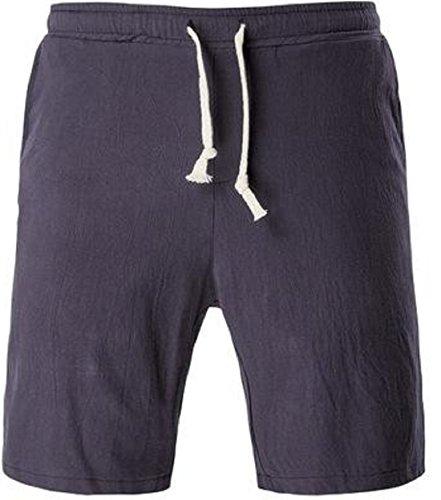 Men's High Quality Comfortable Beach Shorts Grey Blue