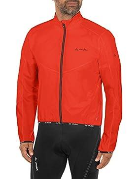 VAUDE Men's Air Jackett II – Cortavientos de ciclismo para hombre – Chaqueta de ciclista ultraligera – talla M...