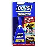 Ceys 507267 - Blister Tubo 75G.Pegamento Tri-Action