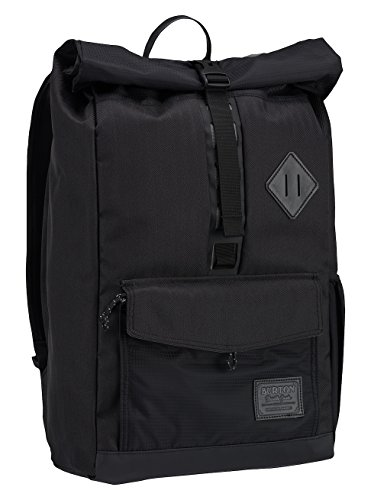 Burton Export Mochila, Unisex adulto, Negro (True Black Heather Twill), Única