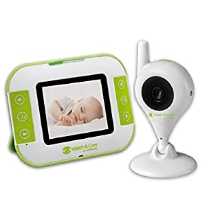 Audioline Watch & Care V140 Video Baby Monitor with night light and contrasting function
