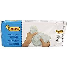 Jovi - Air dry, pastilla pasta para modelar, endurecible 1000 g, color blanco (86)