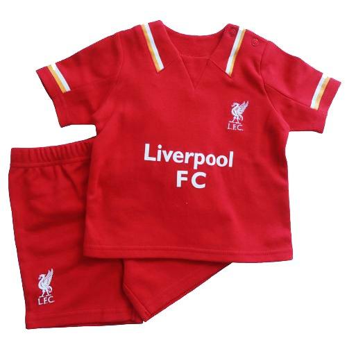 47823cb6e6113 Liverpool F.C.. -Maillot et Short Officiels 12-18 Mois Multicolore