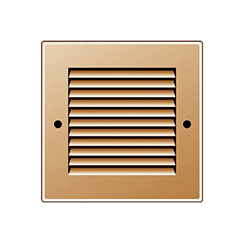 Rejilla de ventilaci/ón color crema 190 x 190 mm, ABS