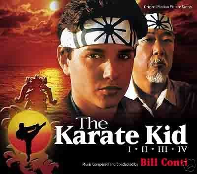 The Karate Kid I - II - III - IV Original Motion Picture Soundtrack Scores (2006-01-01) - The Karate Kid Soundtrack