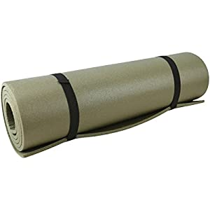 41NxM6pomcL. SS300  - Kombat UK Waterproof  Unisex Outdoor Military Roll Mat available in Olive Green - Size 180 X 500 X 0.8 cm