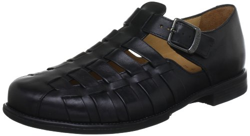 Ganter Greg, Ampla G 5-257241-01000 Homens Chinelo Preto (black 0100)