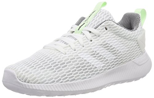 adidas Damen CF Lite Racer Cc W Fitnessschuhe, Elfenbein (FTWR White/Aero Green S18), 42 2/3 EU