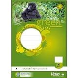 Ursus Schulheft A4 Lineatur 4 liniert 16 Blatt