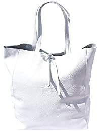 BOLSO TOTE SHOPPING EN CUERO GENUINO 9121