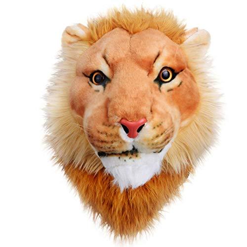 Maschio e femmina leone testa zaino grande capacità borsa da viaggio studente borsa