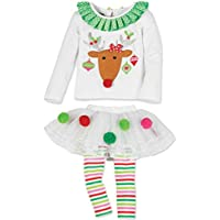 Per 1-2 anni,Amlaiworld Ragazze vestono Carino natale Santa Elk torta