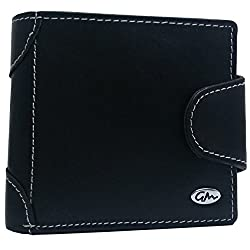 Gentleman Black Mens Wallet