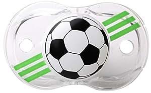 RaZbaby Keep-It-Kleen Pacifier, Soccer Ball, 0-36 Months by RazBaby …