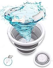 USB Mini Machine à Laver, SHIKING® Lave-linge à Turbine Ultrasonique Portable pour camping, Petite Bac à Linge