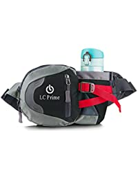 Running Belts Black: Waist Pack Bum Bag Hip Pack Running Bag Waist Bag Running Belt Sack Water Resistant With...