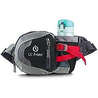 Taille Tasche,Tragbare Wasserflasche Design Auf der Taille Tasche für Reisen, und Outdoor Aktivitäten nylon fabric multied-color, by LC Prime