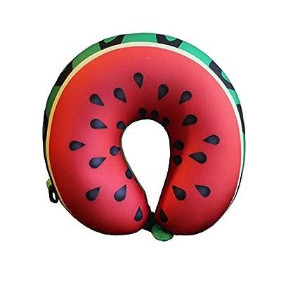 Yalulu Nette Früchte Super Soft Velour Memory Foam Komfortable Neck Support Hals Flugzeug Reisekissen Kissen Cushion