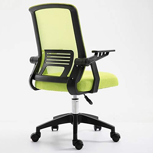 LIUDINGDING-Sessel, Sessel Schreibtischstuhl Computerstuhl Haushaltsbürostuhl Heben Drehstuhl Konferenzstuhl Kleine Hebestühle Personalstuhl (Color : Green B)