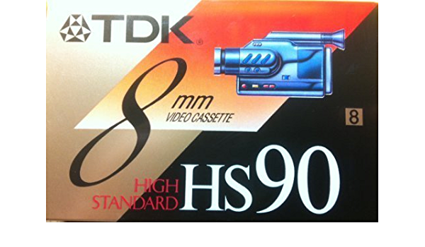 Tdk 8 Mm Hs 90 Blanko Klebeband Elektronik