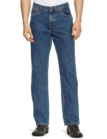 Wrangler Herren Jeans Texas, Blau (Stonewash), 36W / 34L