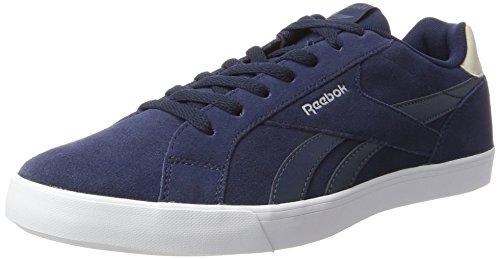 Reebok Royal Complete 2ls, Zapatillas para Hombre, Azul (Collegiate Navy / Smoky Indigo / Stucco / Whit), 45 EU