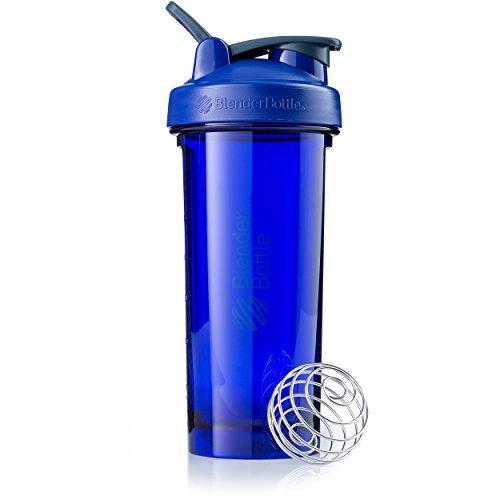 BlenderBottle Pro28 Tritan Protein Shaker/Wasserflasche/Sportflasche/Diät Shaker/820ml - Ultra marine
