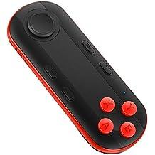 morjava® mocute 051-black Mini portátil Bluetooth inalámbrico controlador gamepad Joystick remoto reproductor de música disparador de la cámara Google cartón Auriculares de realidad virtual gafas 3d