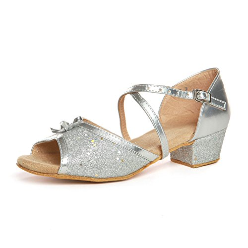latino scarpe per bambini/ Lady shoes/Square dance scarpe per ragazze/ danza scarpa pratica K