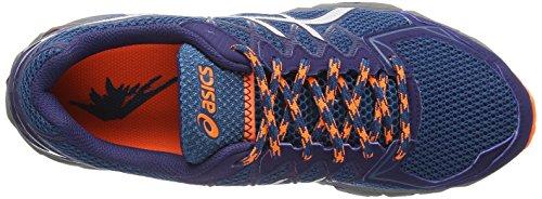Asics - Gel-fujitrabuco 4, Scarpe da corsa Uomo Blu (Mosaic Blue/Silver/Indigo Blue 5393)
