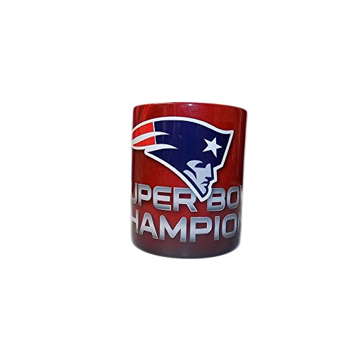 Nfl-champions Patriots (Forever Collectibles NFL New England Patriots Super Bowl 51 Champions Mug)